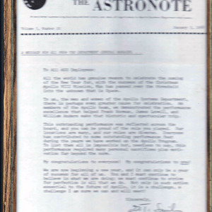 Apollo 1968 NASA Ephemera