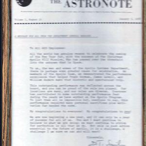 Apollo 1968 NASA Ephemera