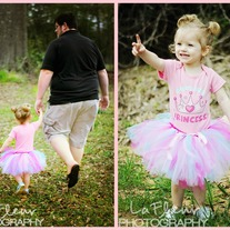 Daddy's Little Princess Tutu Set 2 pcs Disney Onesie and Tutu Skirt
