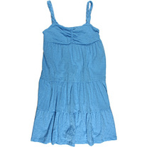 Juicy Couture Blue Braided Jersey Dress