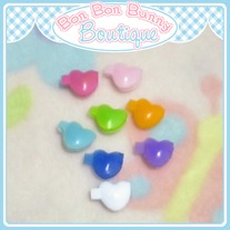 Tiny Treat Hair Clip - Heart
