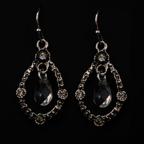 Victorian Crystal Drop Earrings
