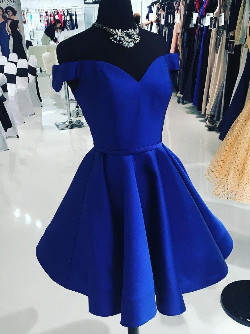 Royal Blue Prom Dress