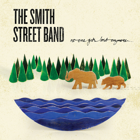 "THE SMITH STREET BAND ""No One Gets Lost Anymore"" LP"