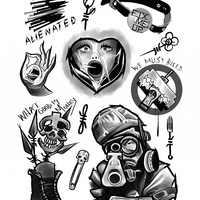 Tattoo Punks Volume Two - Thumbnail 1