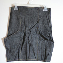 High Waisted Denim Skirt (Brand New)
