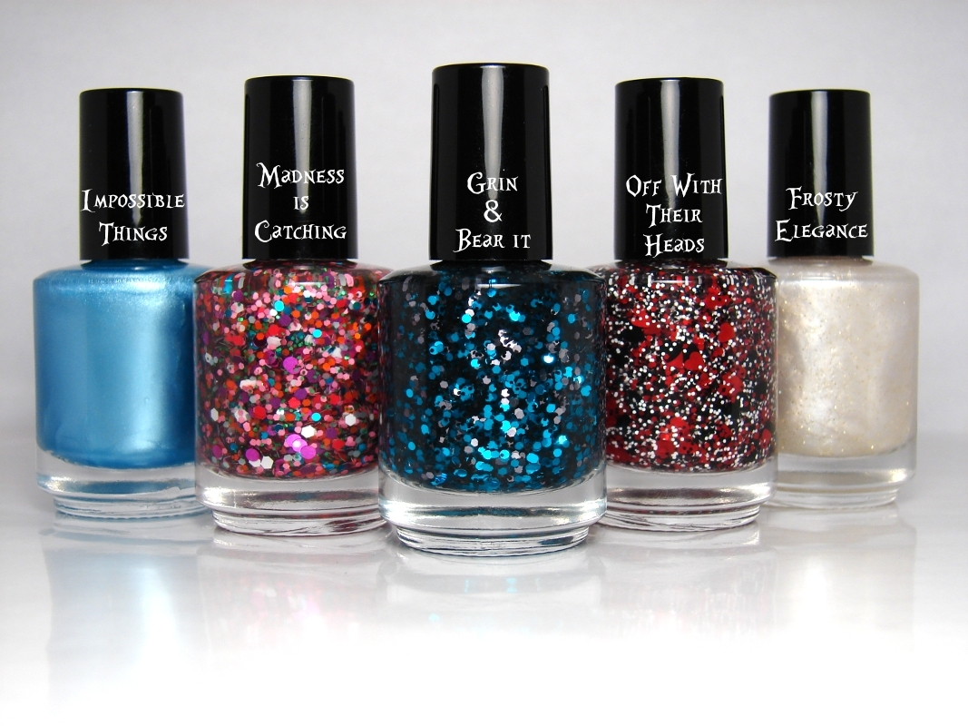 Down The Rabbit Hole Collection - Alice in Wonderland Nail Polish ...