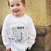 Toddler Boy HOPE Tee