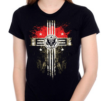 """Empire Cross"" Girl Tee"