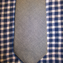 Van Heusen Cotton Houndstooth Tie