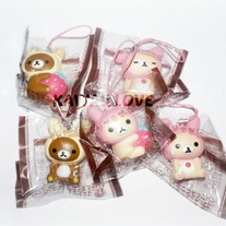 San-X Rilakkuma Strawberry Series Squishy