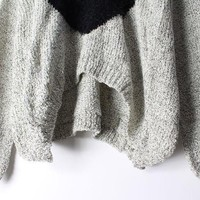 Heart Mohair Sweater JCFDG - Thumbnail 3