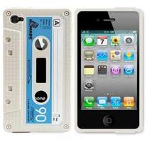 White Cassette Case (iPhone 3/3s)