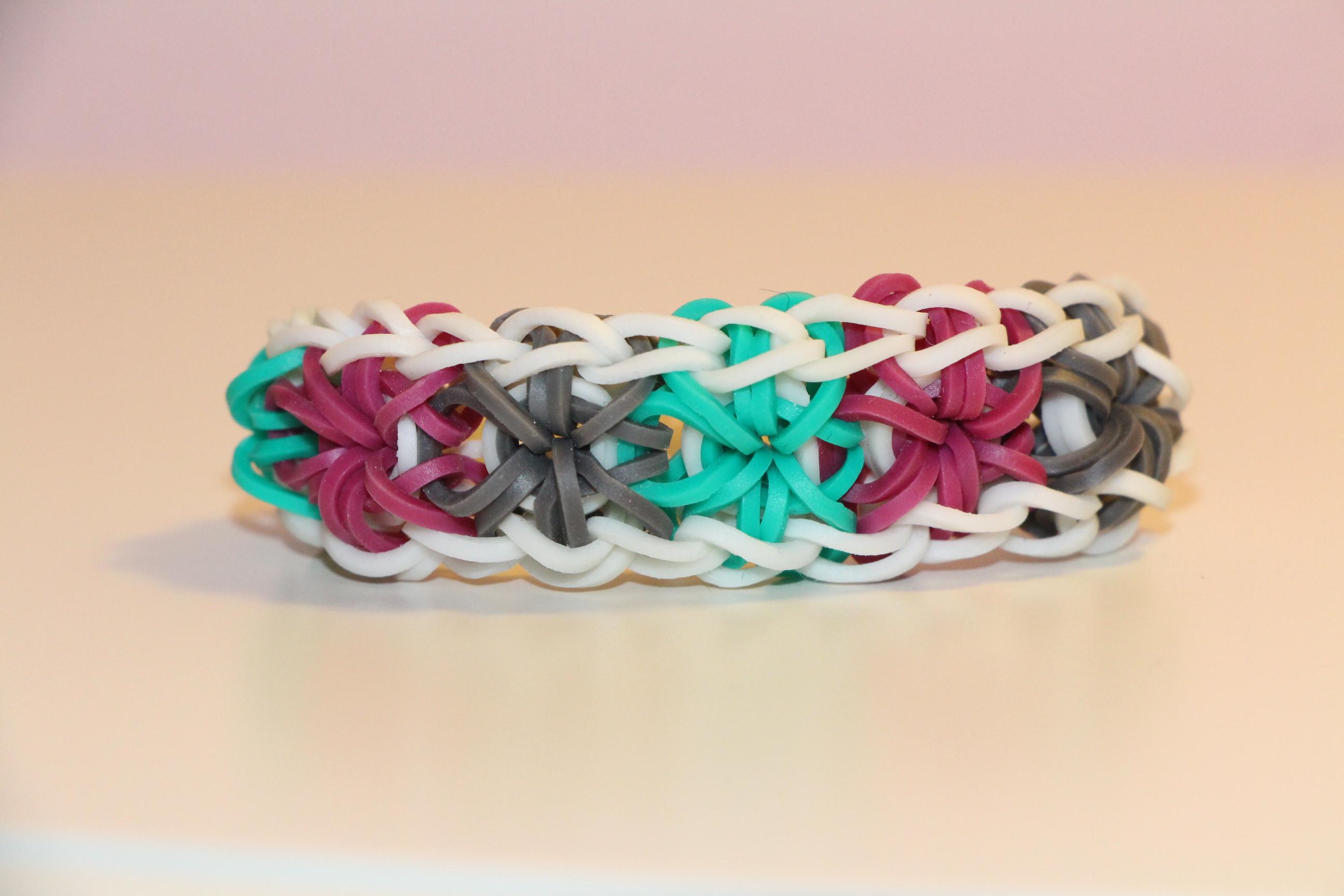 the gallery for gt starburst rubber band bracelet