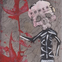POWER FOUR - original painting by Matt Deterior