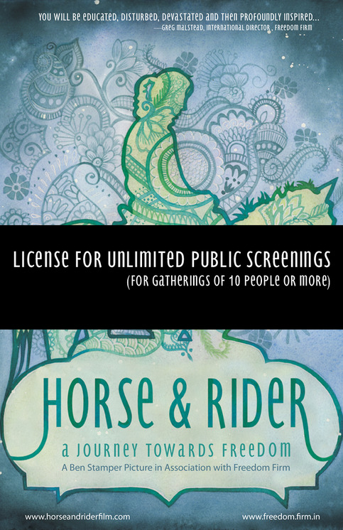 Horse & Rider: Public Screening License