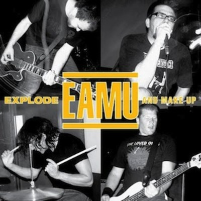 "Explode and make up ""s/t"" one sided lp"