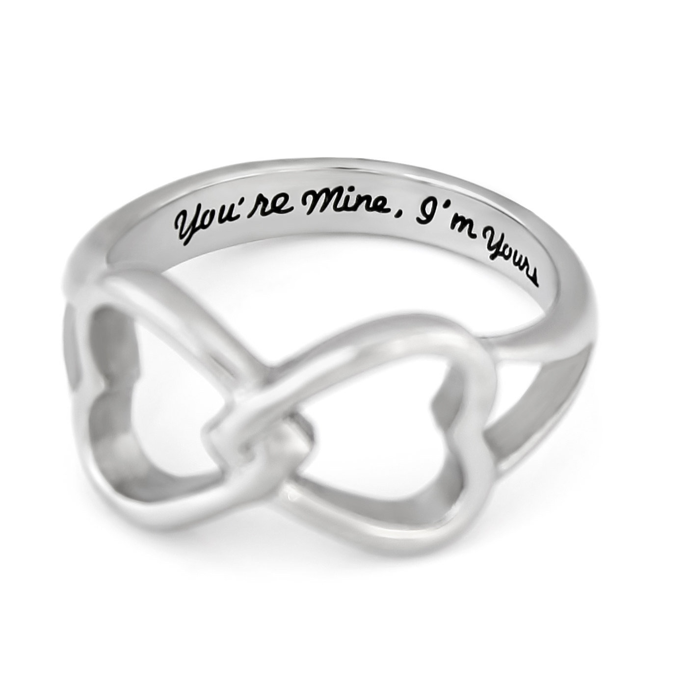 tzaro jewelry hearts infinity ring promise ring