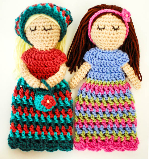 Crochet Pattern - Customizable Doll With Lots of Extras ...