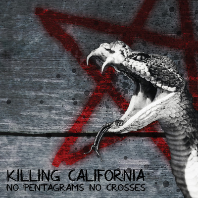 "Killing california - no pentagrams no crosses (12"" beer splattered vinyl)"