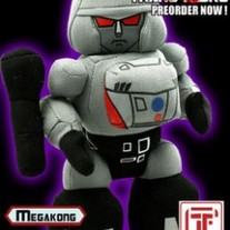 Cute Hand Made Plush Transformers Doll, Megatron