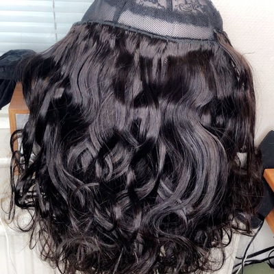 3 bundles of natural wave human hair