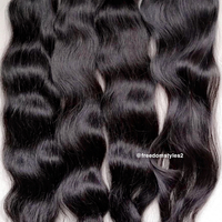 3 bundles of natural wave human hair - Thumbnail 1