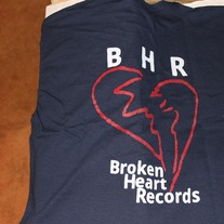 Blue Broken Heart T-Shirt