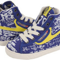 "Diesel ""Its a Hit Upward"" High Top Lace Shoe"