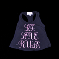 "Wildfox Kids ""Let Love Rule"" Tank"