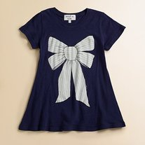 Wildfox Kids Marie Bow Short Sleeve