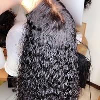 Glue less Human Hair Wig (Handmade Closure Wig) - Thumbnail 4