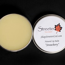 "All Natural Lip Balm ""Strawberry"""