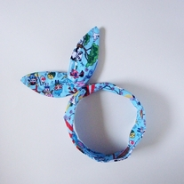 Blue Japan Medley Wire Headband