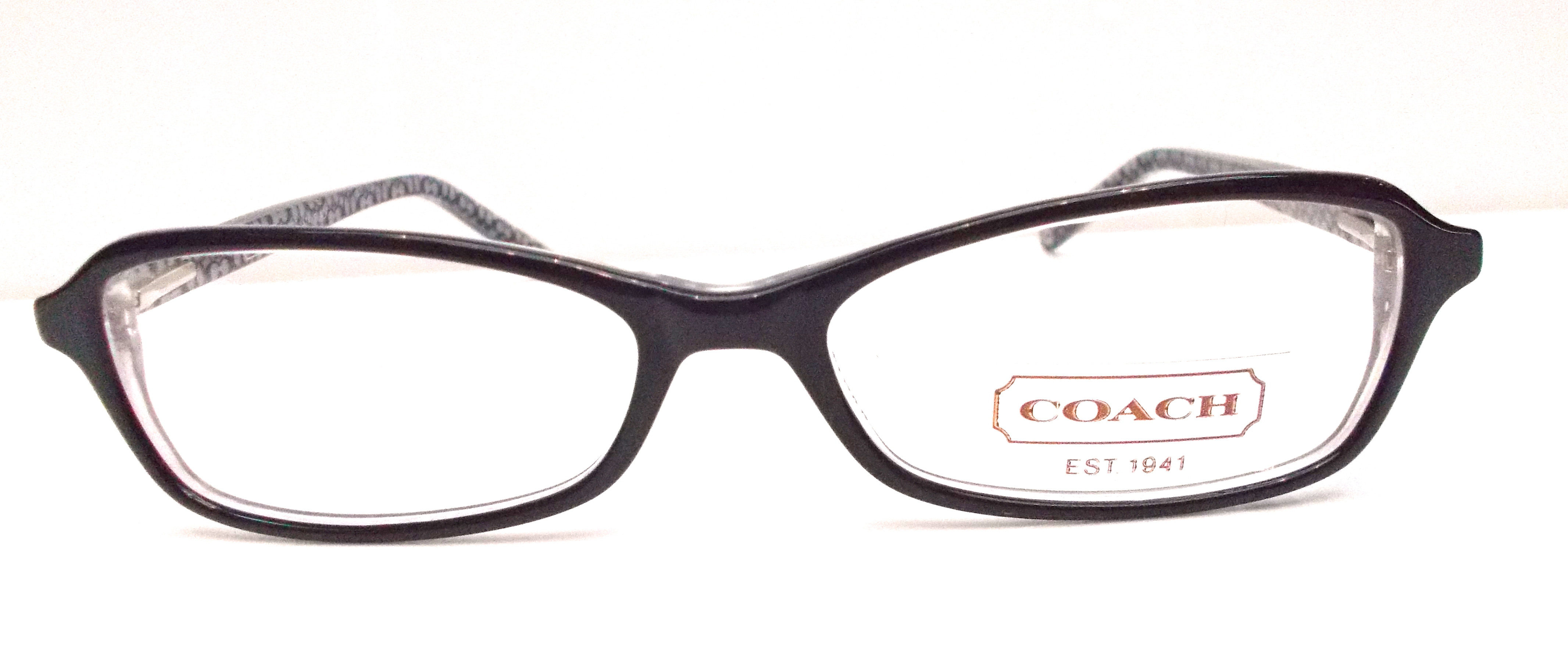 Coach Outlet Eyeglass Frames : H&S Optical Coach Eyeglasses Lizzie (514) Black Online ...
