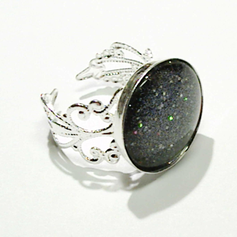 petite stardust ring black nocturne 39 s armoire online. Black Bedroom Furniture Sets. Home Design Ideas
