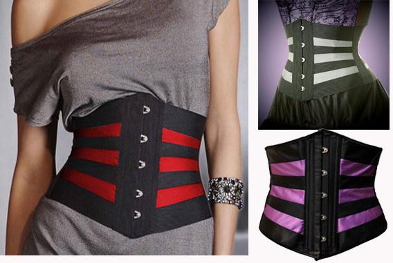 Stripe Corset Waist Training  Waist Trainer Plus Size