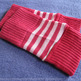 Pink Striped Arm Warmer - Thumbnail 1
