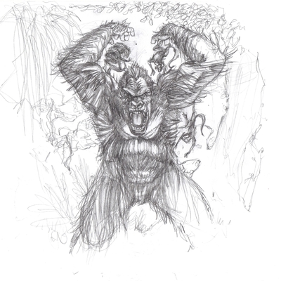 King kong sketch pack