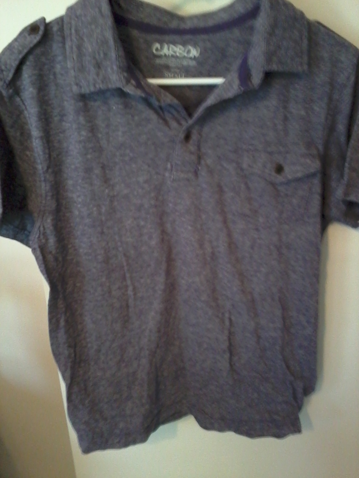 chaos couture rue 21 purple polo s store