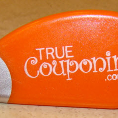 Coupon slicer -  orange