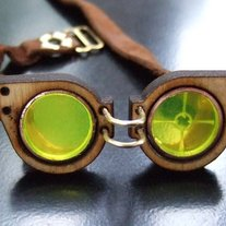 Tiny Steampunk Goggles