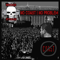 "V/A ""No Coast, No Problem Vol 1"" CD (Featuring Modern Day Rippers)"
