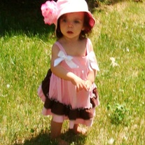 Baby Pink Sun Bonnet with Big Flower Embellishment