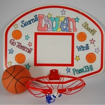 Laundry Basketball Hoop & Ball