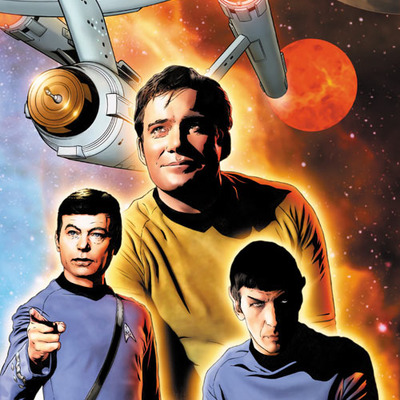 Star trek: the original series: burden of knowledge #1 artist print