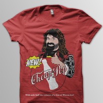 """Mick Foley's Cheap Pop"" Shirt"