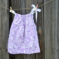 Pillowcase Dress {Lavender}