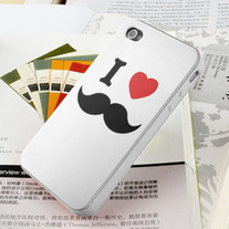 New I Love Beard iPhone 4/4S Case