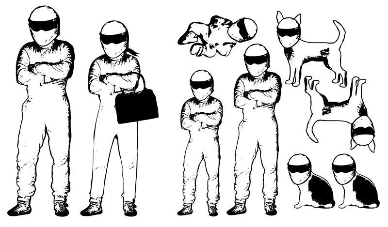 STIG Family Stickers - Thumbnail 1